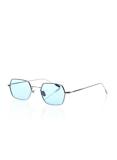 Optoline Opc 17015 04 Kare   Gövde Polarize Cam Kadın Güneş Gözlüğü Mavi